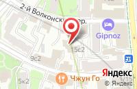Схема проезда до компании Старая Гвардия в Москве