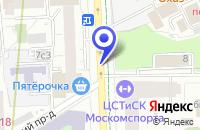 Схема проезда до компании ЭКСПЕРИМЕНТАЛЬНАЯ ШКОЛА ВЫСШЕГО СПОРТИВНОГО МАСТЕРСТВА в Москве