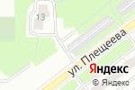 Схема проезда до компании Старт №40 в Москве