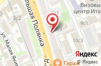 Схема проезда до компании Интерстиль в Москве