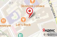 Схема проезда до компании Полиграф в Москве