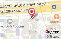 Схема проезда до компании Рыжая в Москве