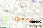 Схема проезда до компании Универсальный фондовый банк в Москве