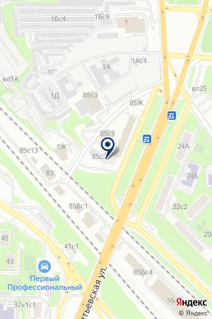 ПТФ АВИОН на карте Москвы