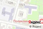 Схема проезда до компании Полянка в Москве