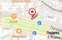 Схема проезда до компании Инженерный Центр Цифровых Технологий в Москве