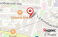 Схема проезда до компании Полиграфкомплект в Москве