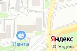 Схема проезда до компании Столплит в Москве
