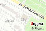 Схема проезда до компании Buran в Москве