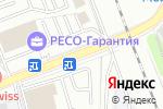 Схема проезда до компании Ремонт кофемашин franke в Москве