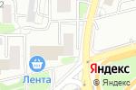 Схема проезда до компании Profil Doors в Москве
