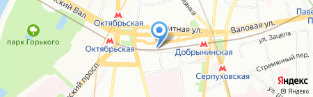 ЮРИНСЕРВИС на карте Москвы