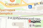 Схема проезда до компании ВЕКТОР Право в Москве