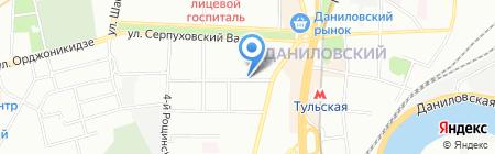 Аэроклимат на карте Москвы