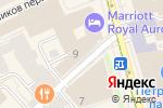 Схема проезда до компании Allen & Overy в Москве