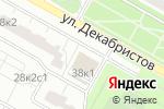Схема проезда до компании Город Стекло в Москве