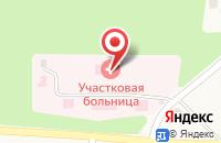 Схема проезда до компании Осташковская сельская участковая взрослая поликлиника в Осташково