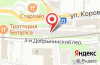 Схема проезда до компании Информационно-Издательская Группа «Информбюро» в Москве