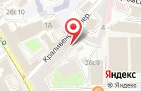Схема проезда до компании Оперативная Печать в Москве
