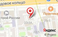 Схема проезда до компании Орбита-Сервис в Москве