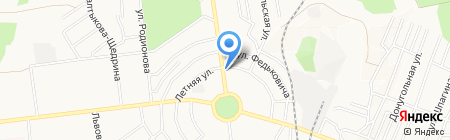 Старый Арбат на карте Донецка