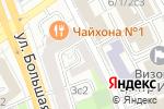 Схема проезда до компании СМУ №1 МЕТРОСТРОЯ в Москве