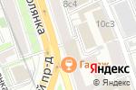 Схема проезда до компании Lex Elementum в Москве