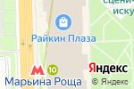 Схема проезда до компании Palmetta в Москве