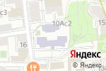 Схема проезда до компании Всероссийский государственный университет юстиции в Москве