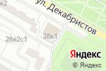 Схема проезда до компании All4coins в Москве