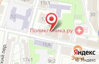 Схема проезда до компании Строймонтажэлит в Москве