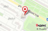 Схема проезда до компании Ломчермет в Москве