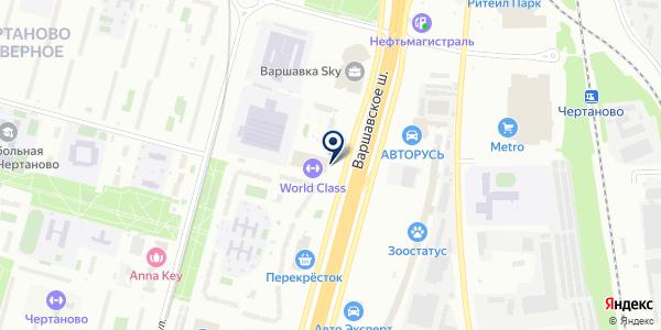 АВТО-ПОМОЩНИК на карте Москве