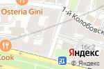 Схема проезда до компании Премиум места.ru в Москве