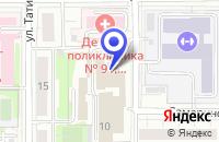 Схема проезда до компании ПРОЕКТНОЕ ПРЕДПРИЯТИЕ ОРГСТРОЙПРОЕКТ в Москве