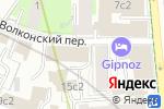 Схема проезда до компании Сервисно-визовый центр Греции в Москве