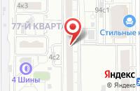 Схема проезда до компании Сосновый Лес в Москве