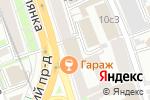 Схема проезда до компании Ламинели Центр в Москве