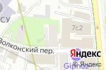 Схема проезда до компании Янс-Аудит в Москве