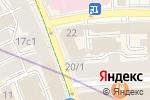 Схема проезда до компании Генеральная прокуратура РФ в Москве