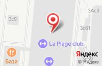 Схема проезда до компании Тд Красная Роза в Москве