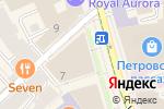 Схема проезда до компании Sotheby`s International Realty в Москве