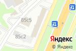 Схема проезда до компании АльтезаФинанс в Москве