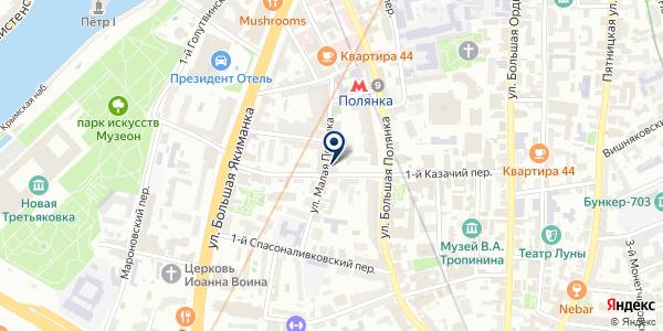 РЫБНЫЙ МАГАЗИН ЛИНИЯ-5 на карте Москве