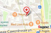 Схема проезда до компании Брендтайм в Москве