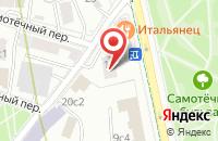 Схема проезда до компании Упак-Сервис в Москве