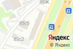 Схема проезда до компании Иннотек-Групп в Москве