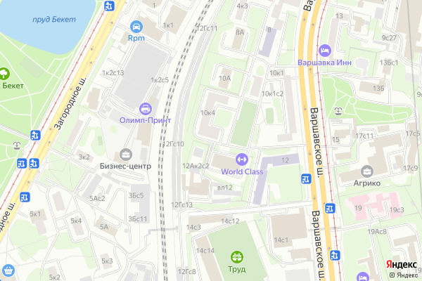 Ремонт телевизоров Район Донской на яндекс карте