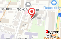 Схема проезда до компании Униакс в Москве