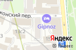 Схема проезда до компании AVANT SHOP в Москве